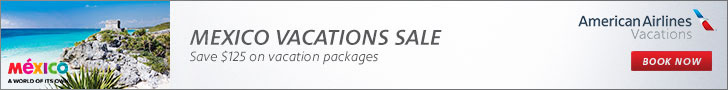American Airline Vacations Mexico Sale