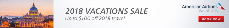 American Airline Vacations 2018 Vacation Sale